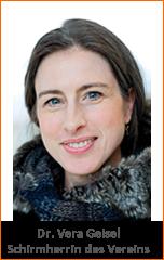 Dr. Vera Geisel - Schirmherrin Werkstatt Lebenshunger e.V.